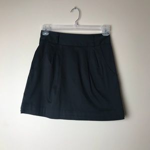 UO Silence + Noise Black Business Casual Skirt